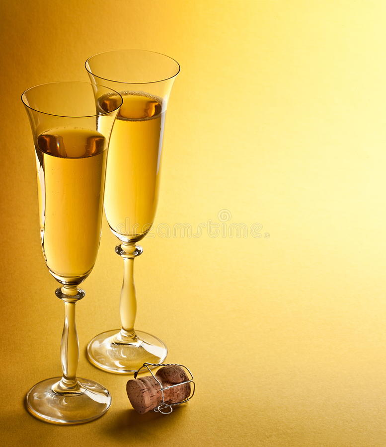 Download Champagne glasses stock image. Image of alcoholic, bubbly - 19205007