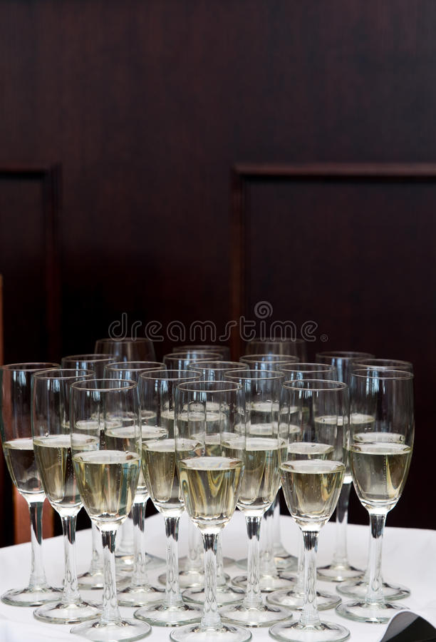 Download Champagne Glasses Stock Images - Image: 25381204