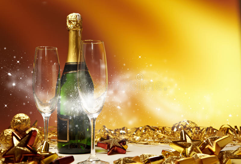 Download Champagne glasses stock image. Image of alcohol, champagne - 28059299