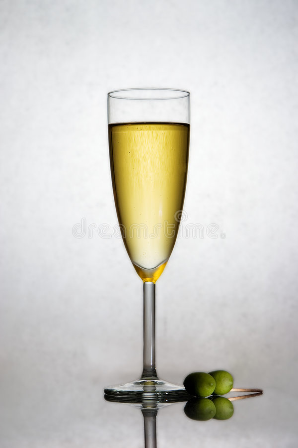 Free Champagne In A Flute Stock Images - 3517074