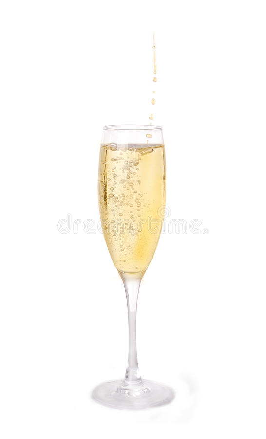 Free Champagne In Glass Stock Photography - 18134642