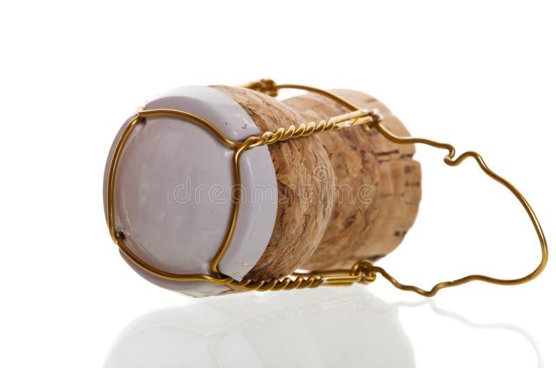 Champagne-Korken stockfoto