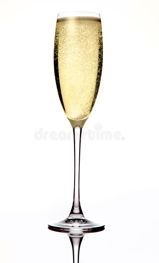 Champagne pétillante photographie stock libre de droits