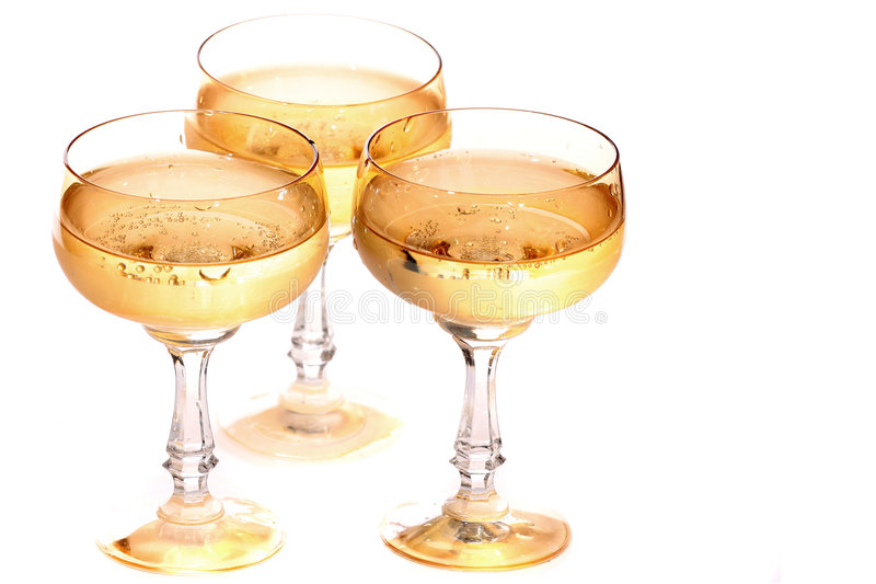 The champagne party stock photos