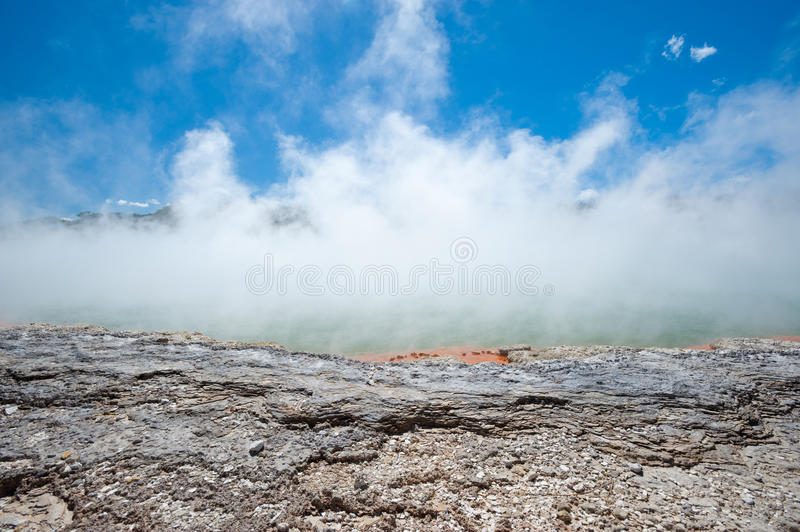 Download Champagne Pool stock photo. Image of tapu, landscape - 26783748