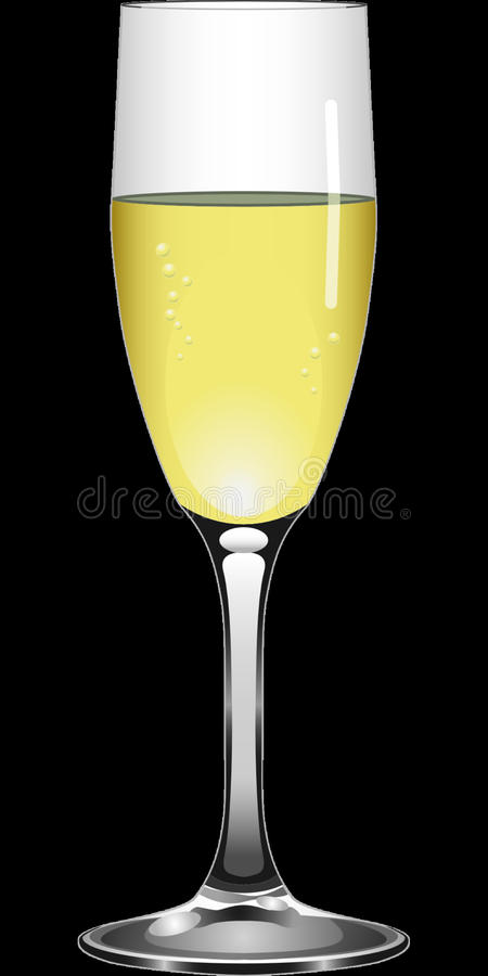 Champagne Stemware, Beer Glass, Wine Glass, Yellow royalty free stock image