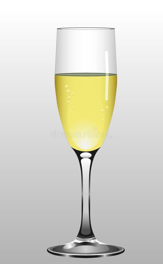 Champagne Stemware, Beer Glass, Wine Glass, Yellow royalty free stock photo