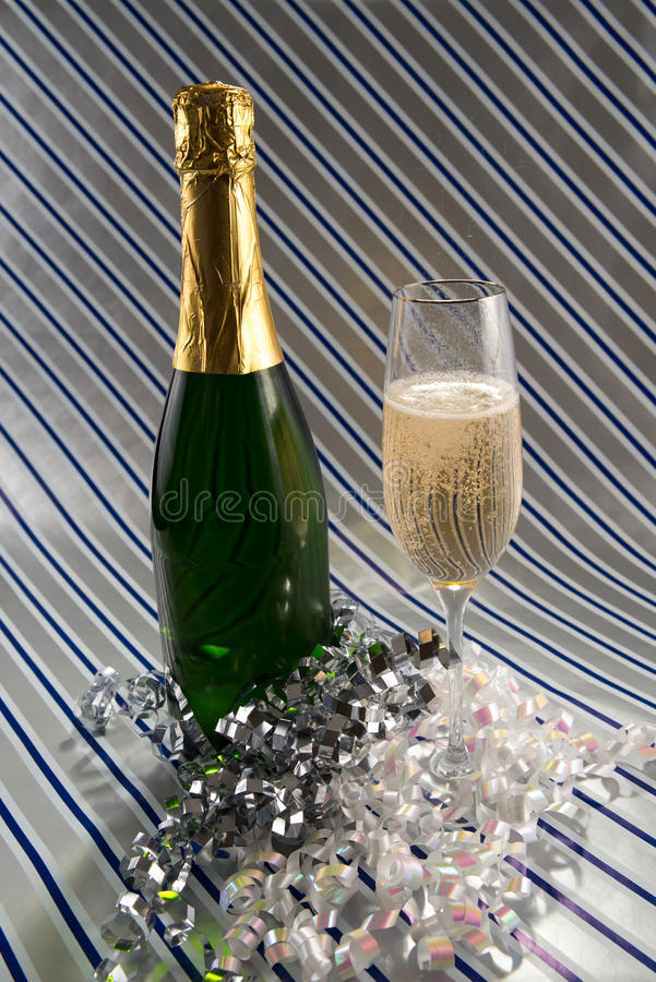 Champagne Toast royalty-vrije stock foto
