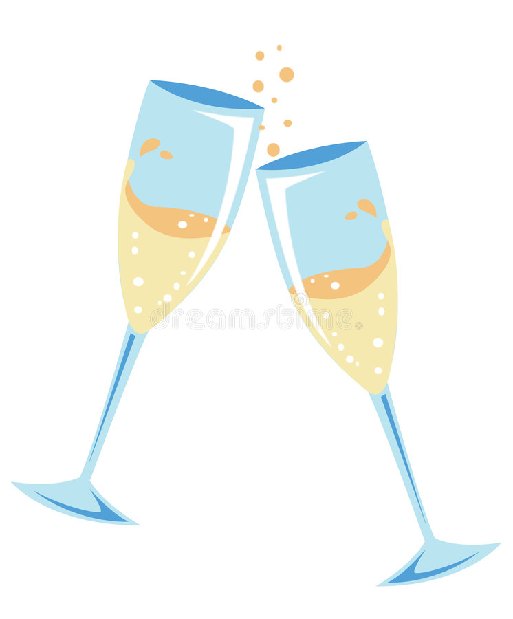 Free Champagne Toast Royalty Free Stock Photography - 4706747