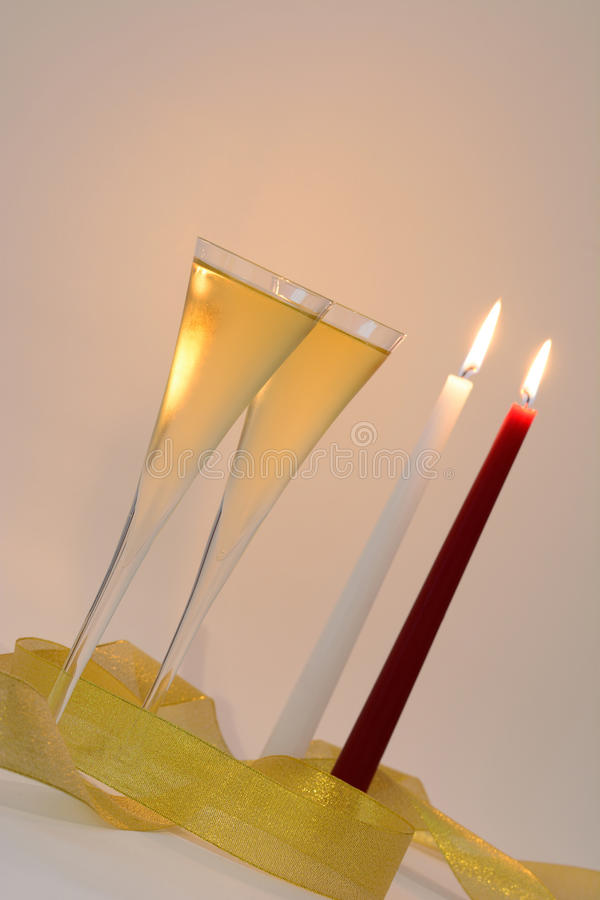 Download Champagne stock image. Image of blurry, candles, backgrounds - 43560663