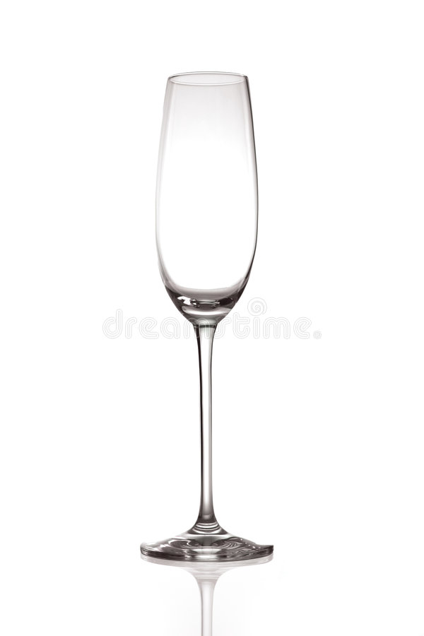 champagneflöjt royaltyfri bild