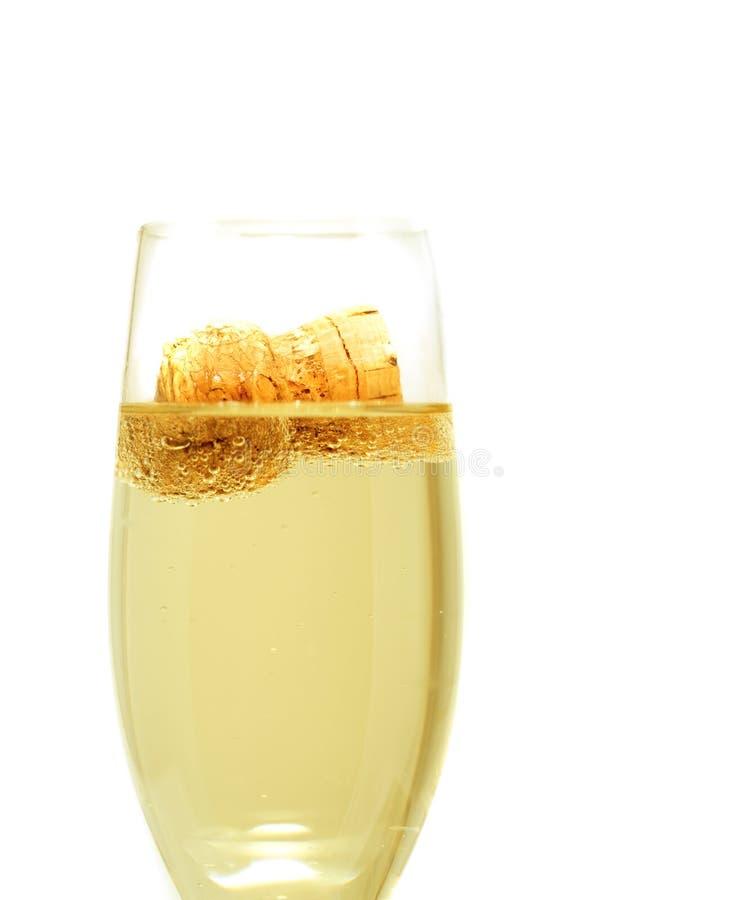 champagnekork royaltyfria bilder