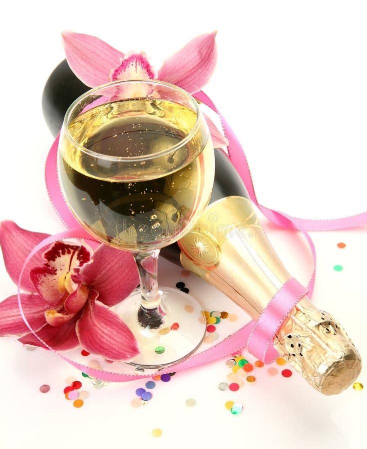 champagneorchidspink fotografering för bildbyråer
