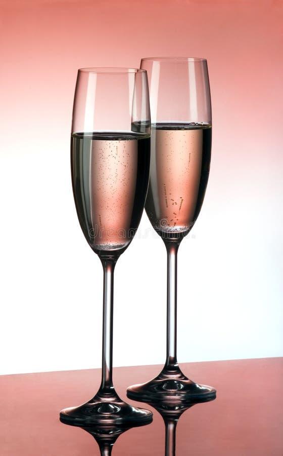 champagnepink royaltyfria foton