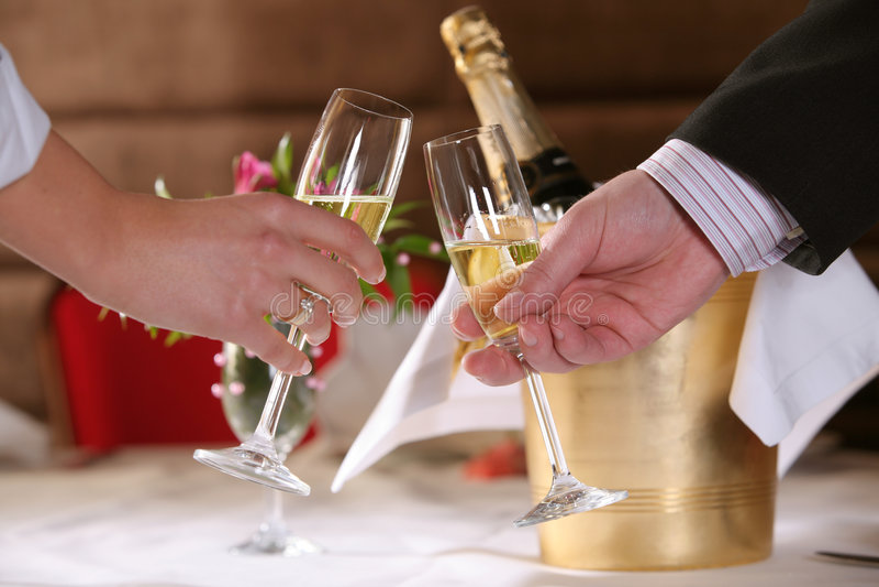 champagnespecialrostat bröd royaltyfri foto