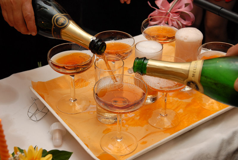 champaign fotografia royalty free