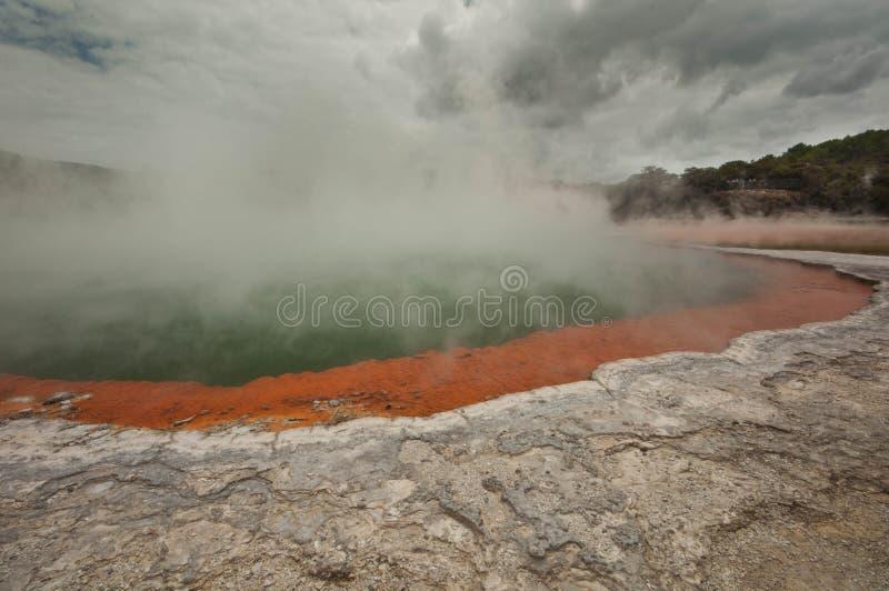 Champaign basenu gejzer zdjęcia stock