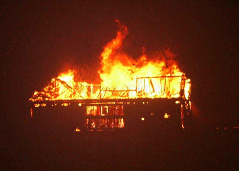 Champaign County Barn Fire Free Public Domain Cc0 Image