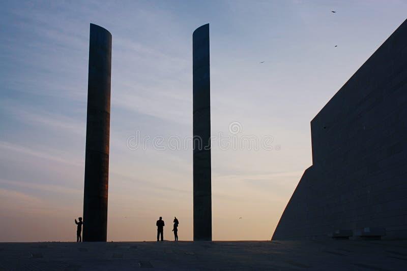 Champalimaud Fundacyjny Centre Lisbon zdjęcia stock