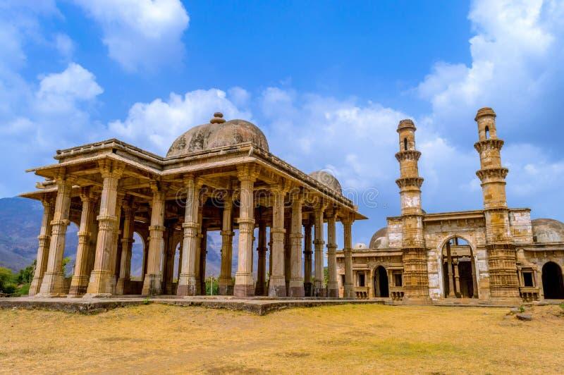 Champaner-Pavagadh stockbild