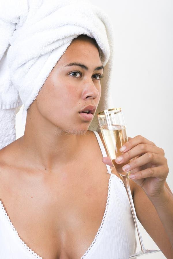 Champanhe 1 de Gemima imagem de stock royalty free