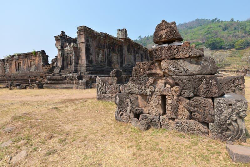 Champasak, Лаос стоковые изображения rf