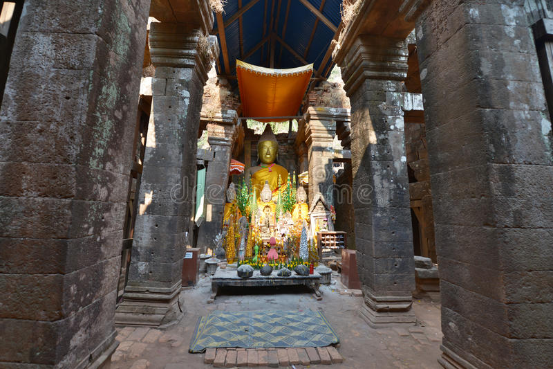Champasak Laos fotografering för bildbyråer
