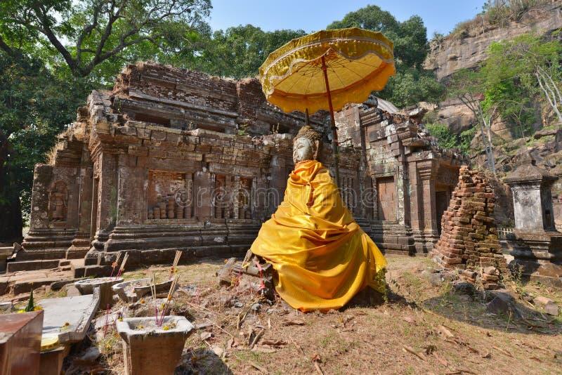 Champasak Laos royaltyfri fotografi