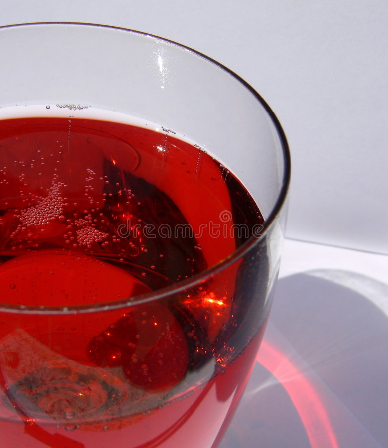 Champers Glas stockfotos