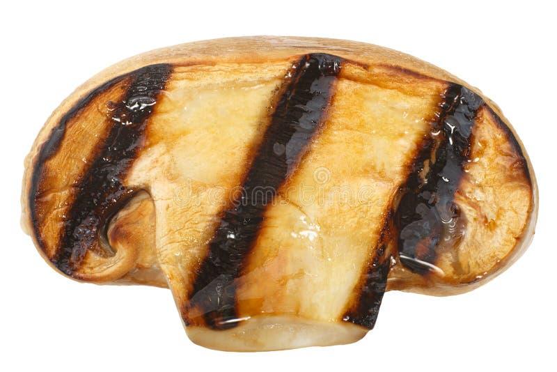 Champignon de paris grill? de champignon, chemins photo stock