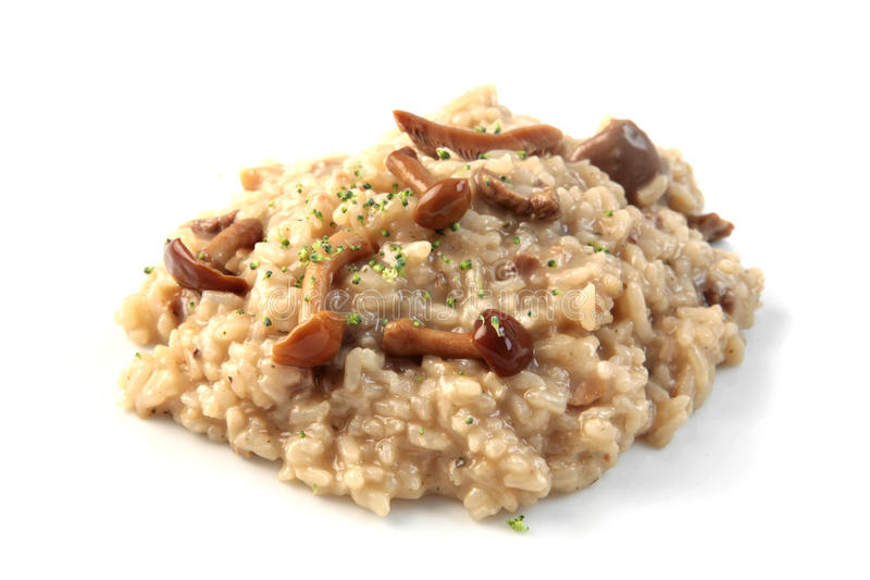 champinjonrisotto royaltyfria foton