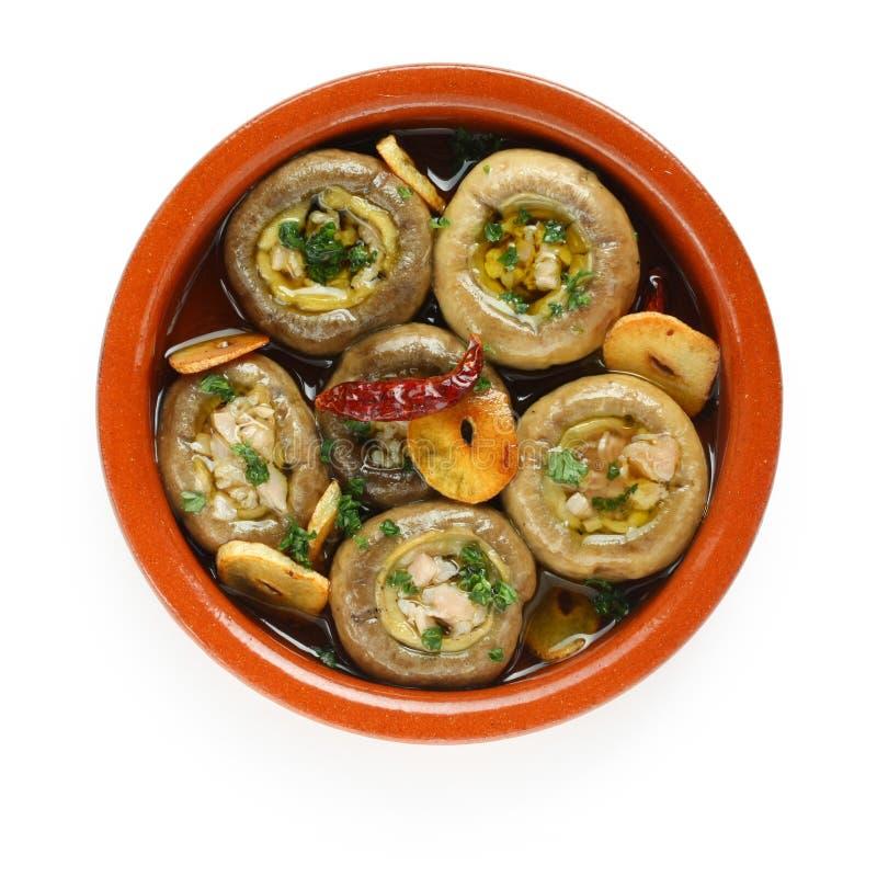 Download Champinones Al Ajillo , Garlic Mushrooms Stock Photo - Image: 21236490
