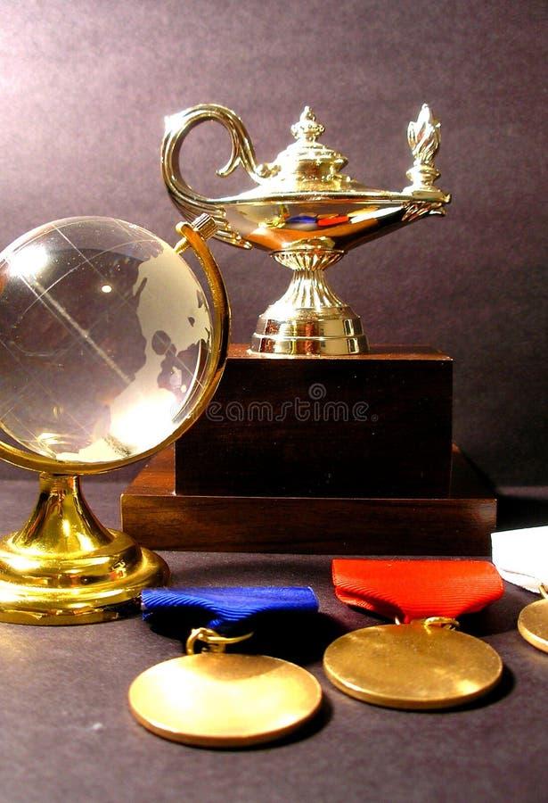 Champion autour du monde photo libre de droits