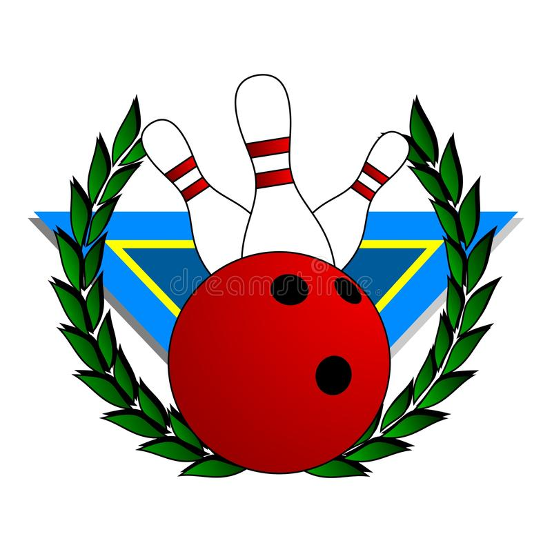 Download Champion bowling stock vector. Image of bowling, rolling - 18263848