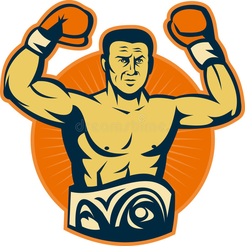 Download Champion Boxer Championship Belt Stock Illustration - Illustration of winner, boxing: 15164738
