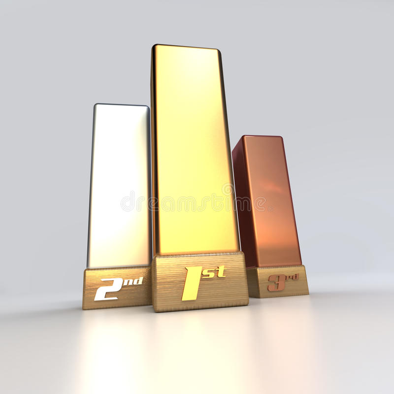Download Champion Trophies Royalty Free Stock Photo - Image: 10509475