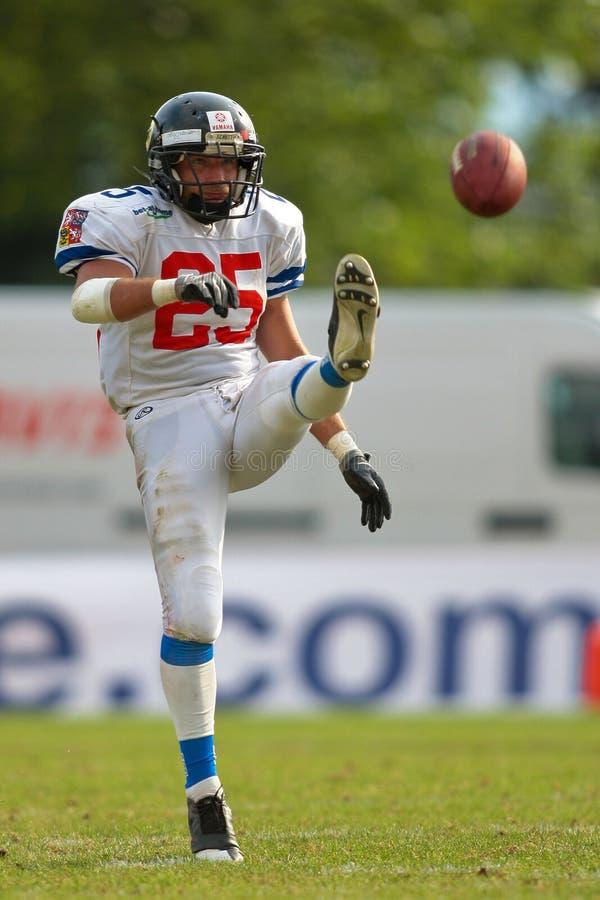 Championnat B-Européen 2009 de football américain photo stock