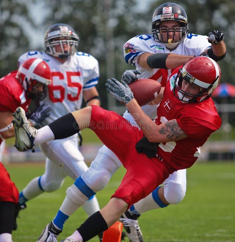 Championnat B-Européen 2009 de football américain photo libre de droits