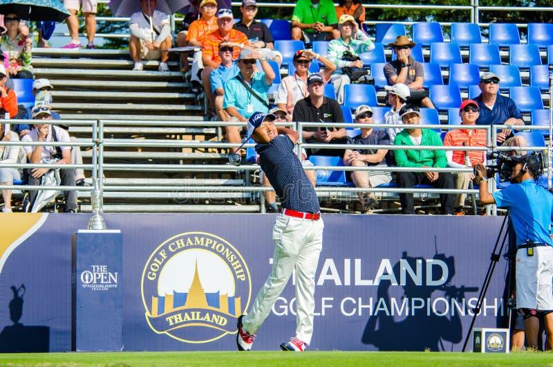 Championnat 2014 de golf de la Thaïlande photo libre de droits