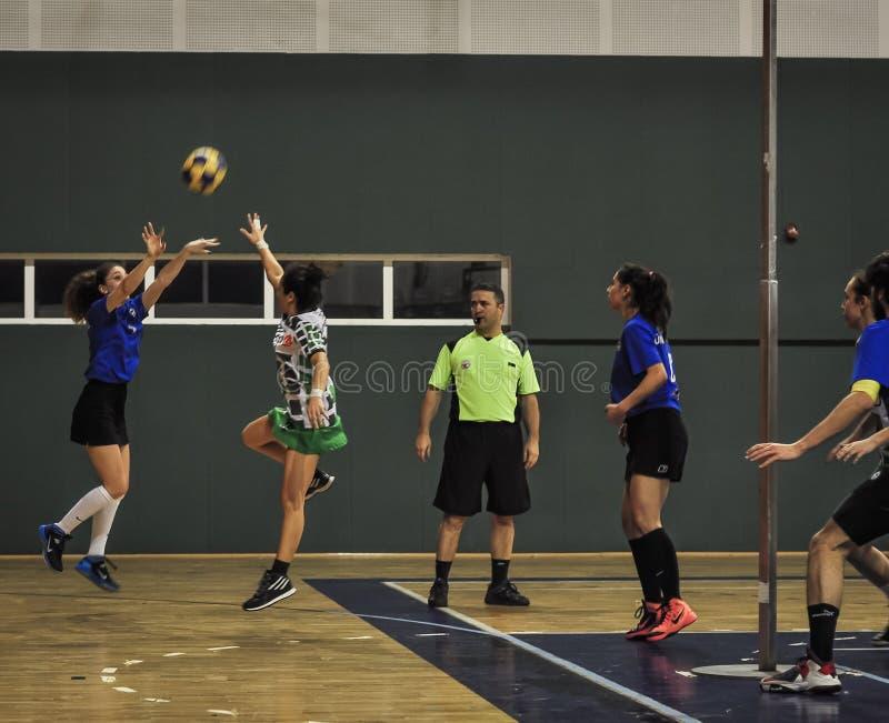 Championnat de Korfball de turc photos stock