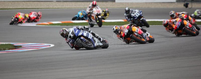Championnat du monde de MotoGP à Brno 2011 image libre de droits