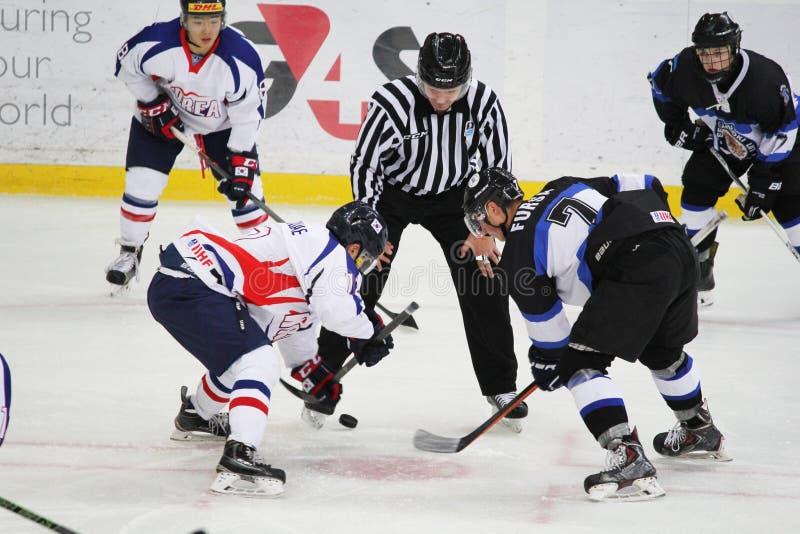 2016 CHAMPIONNAT DU MONDE DU HOCKEY SUR GLACE D'IIHF U20 photo libre de droits