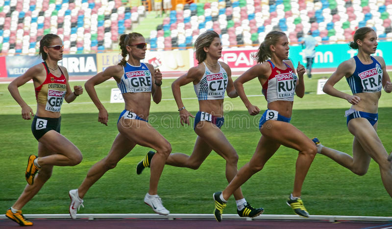 Championnat européen d'équipe d'athlétisme photo stock