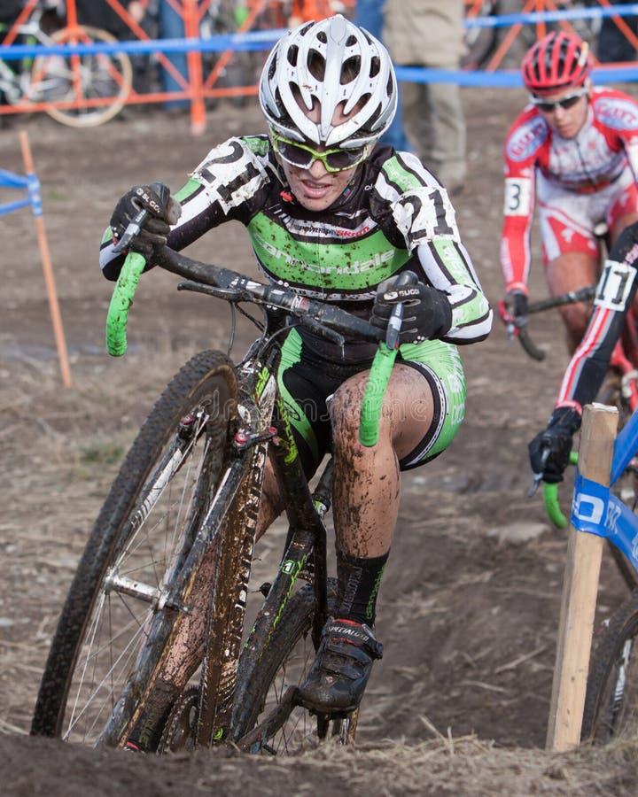 Championnat national de cyclo-cross - femmes d'élite photo stock