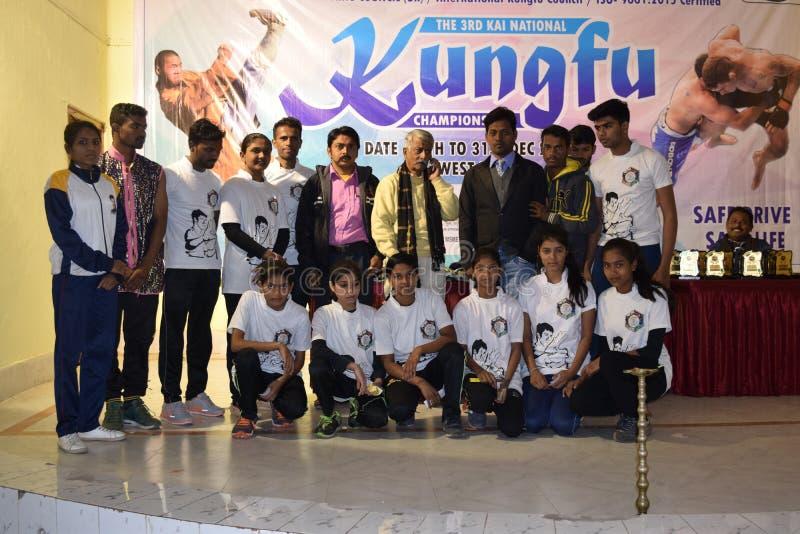 Championnat national de kungfu photographie stock