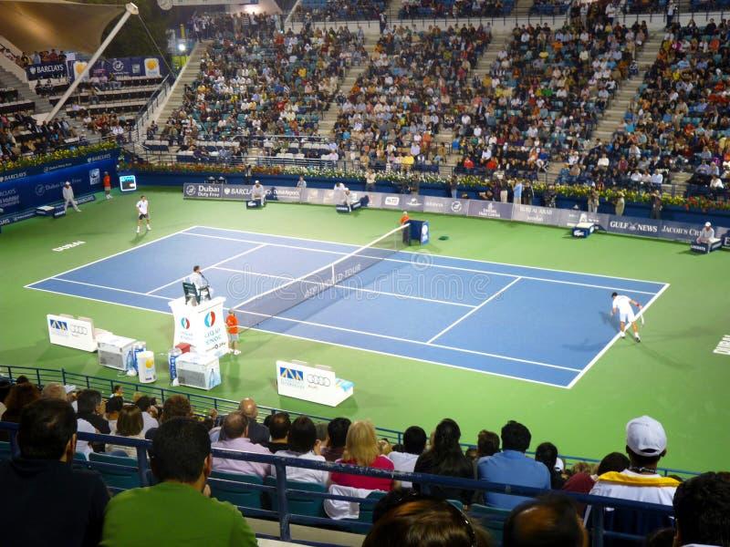 Championnats 2010 de tennis de Dubaï image stock