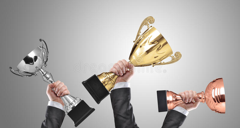 Champions stock images