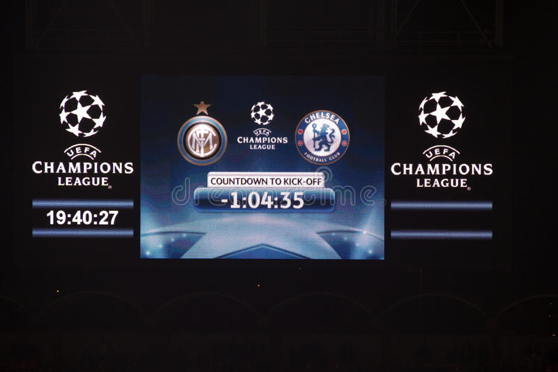 Download Champions league editorial stock photo. Image of foot - 13169723