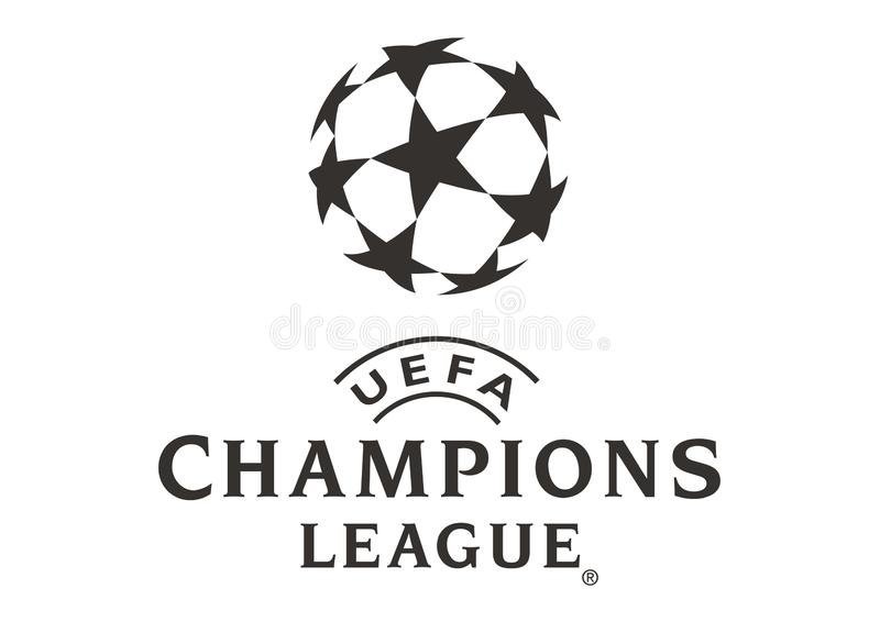 Champions League logo ilustracji