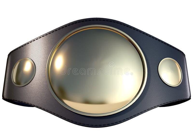 3D championship belt royalty free stock photography